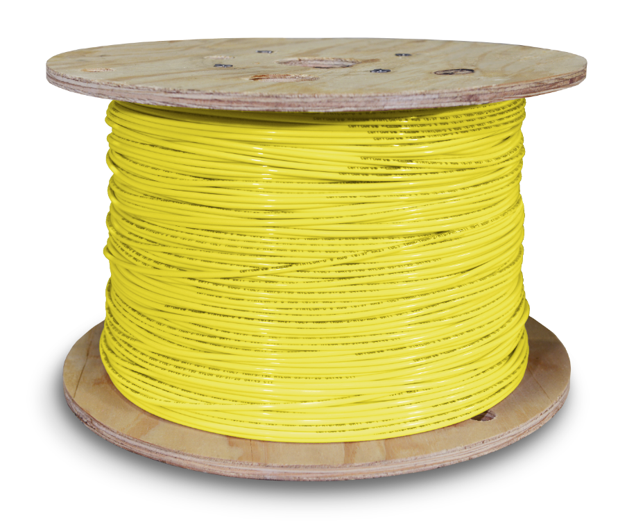 THHN_8awg_2500ft Yellow
