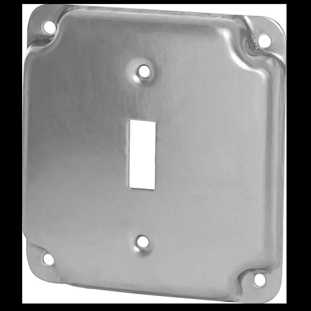 APP 8361 4-IN RAISED SQ TGL SW CVR