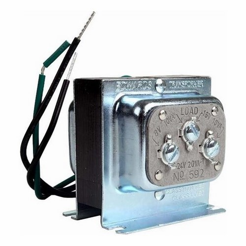 edwards signaling 592 transformer, 120v ac primar | steiner electric company  steiner electric