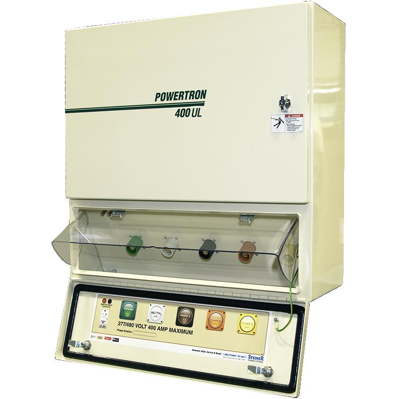 POWERTRON TBQC400UL-3PH208V QUICK CONNECT GENERATOR DOCKING STATION UL LISTED 400AMP 208V 3PH NEMA 3R ALUMINUM