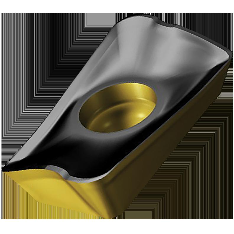 Sandvik Coromant 5746121 CoroMill® 390 Milling Insert, R390-17 04 08M-PM 4240, L-Rectangle, R390..M-PM Insert, Carbide, 4240, R390-17 04 08M-PM 4240
