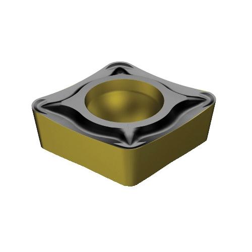 Sandvik Coromant 7231313 CoroTurn® 107 1-Sided Basic Shape Positive Turning  Insert, CCMT 3(2 5)2-UM 2220, CCMT Insert