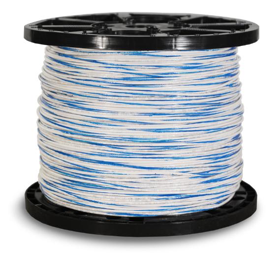 660146_THHN_12str_2500ft_white_w_Blue_Stripe