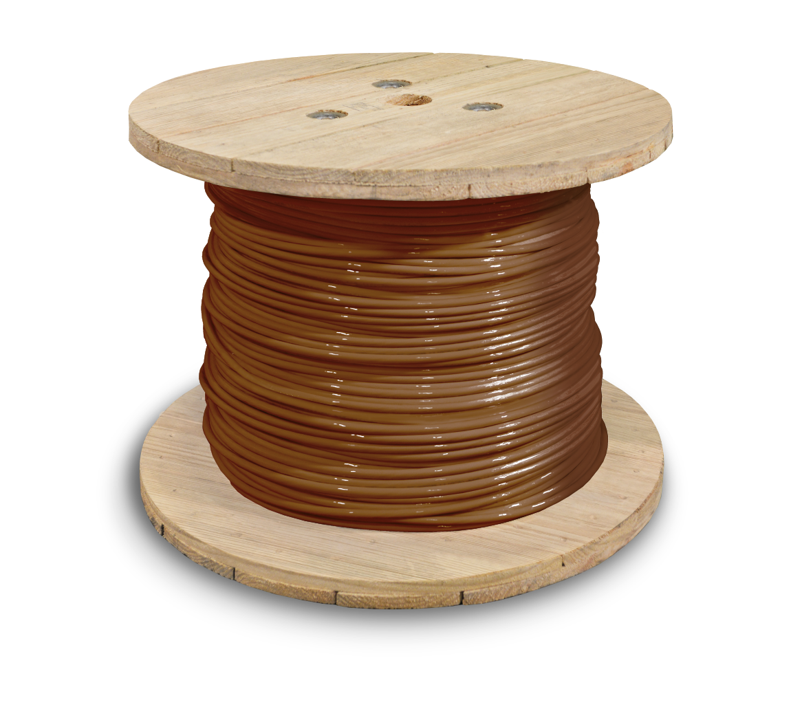 381628_THHN_1awg_2500ft_brown