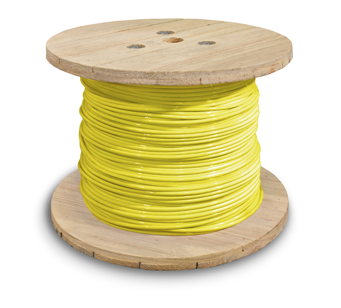 381660_THHN_1awg_2500ft_yellow