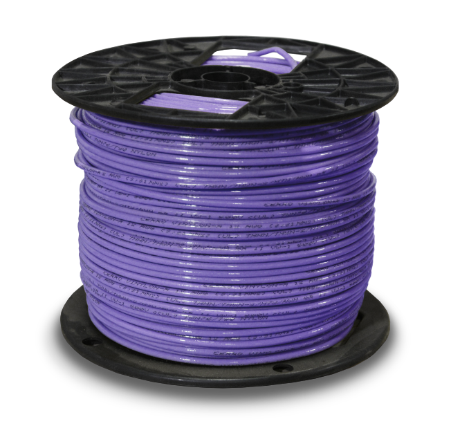 39576_THHN_12awg_500ft_Purple