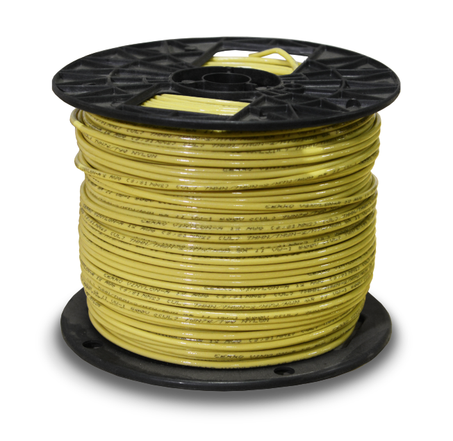 39618_THHN_12awg_500ft_Yellow