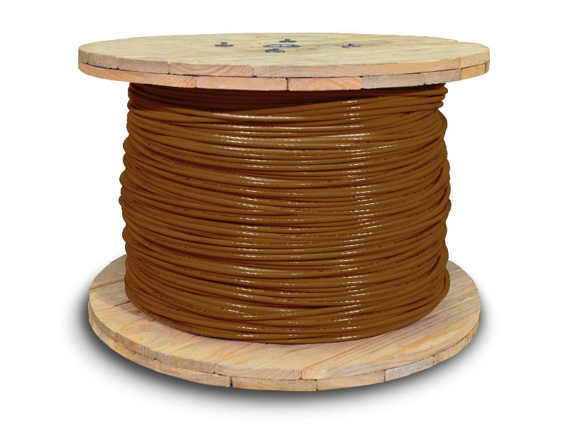 666354_THHN_3-0awg_2500ft_brown