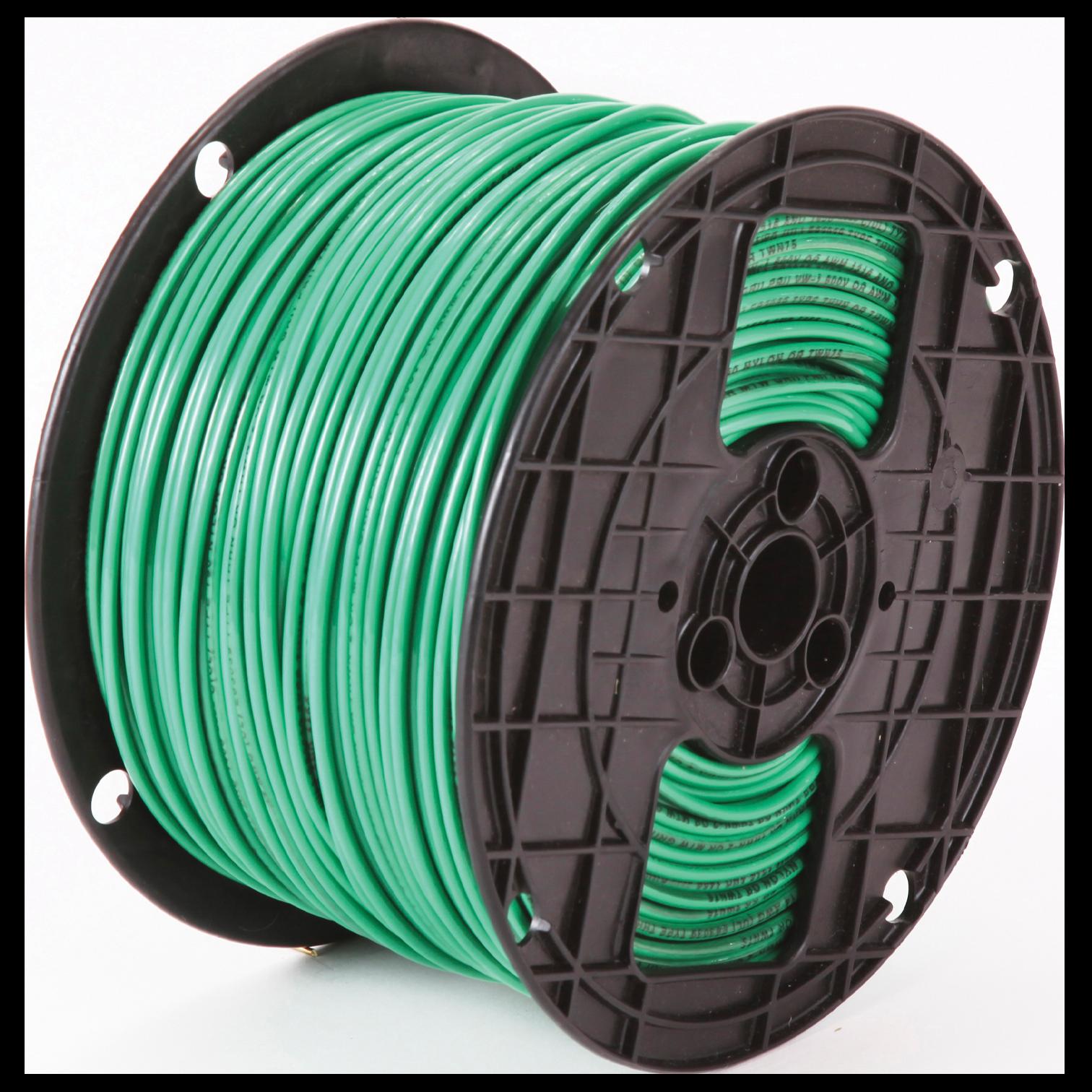 THHN 12 STR GREEN 500/SPL