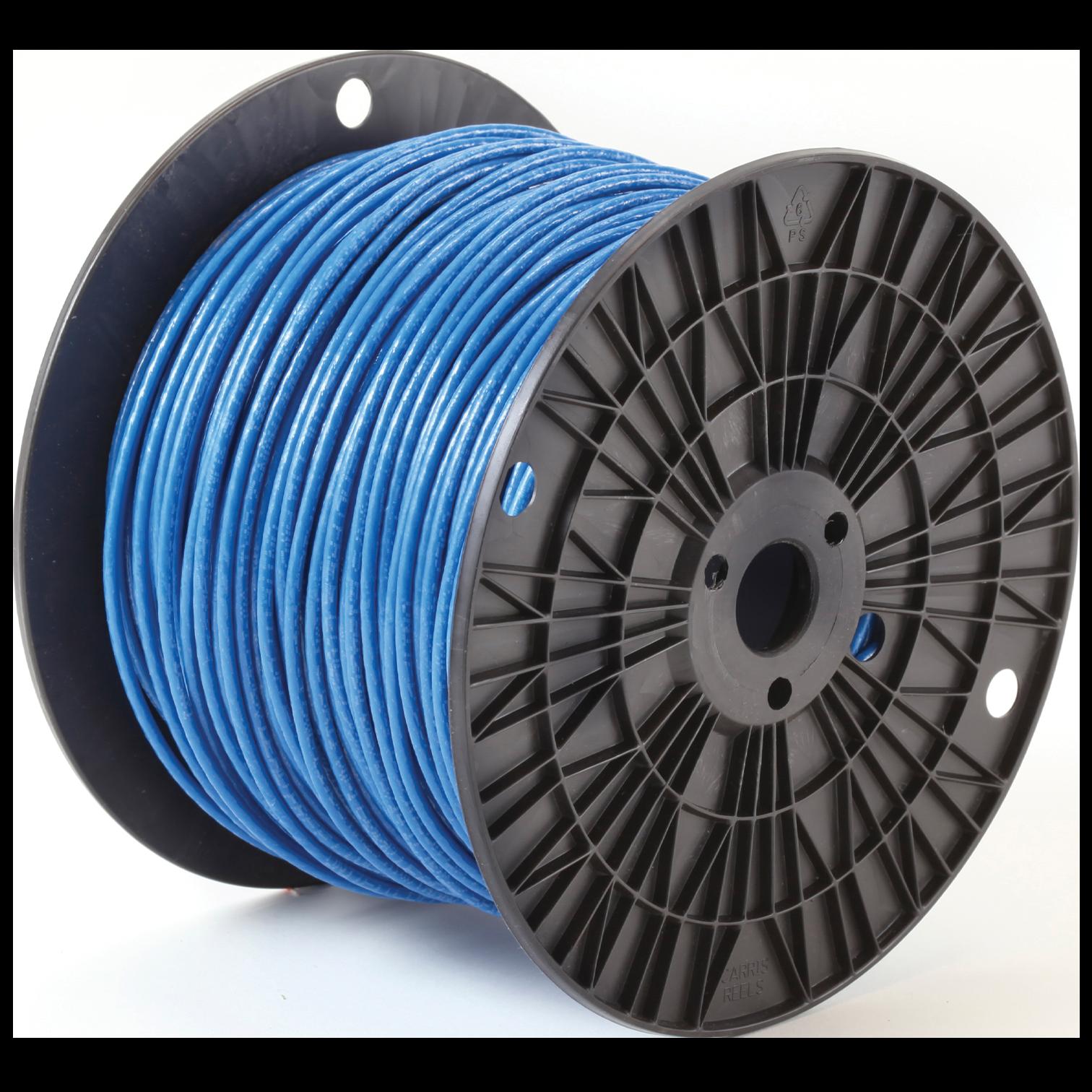 THHN 12 STR BLUE 500/SPL