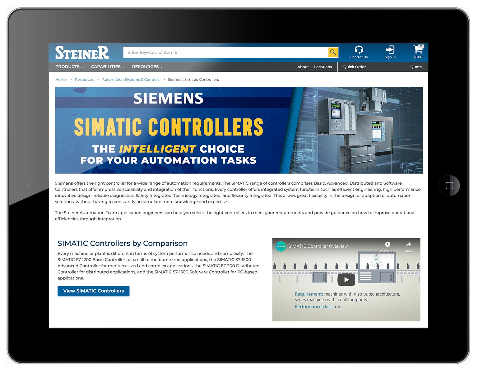 Siemens Simatic Controllers