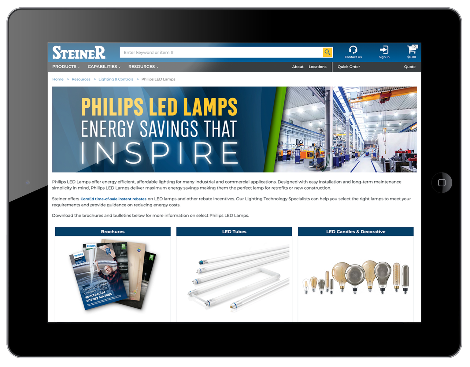 Phillips LED Lamps