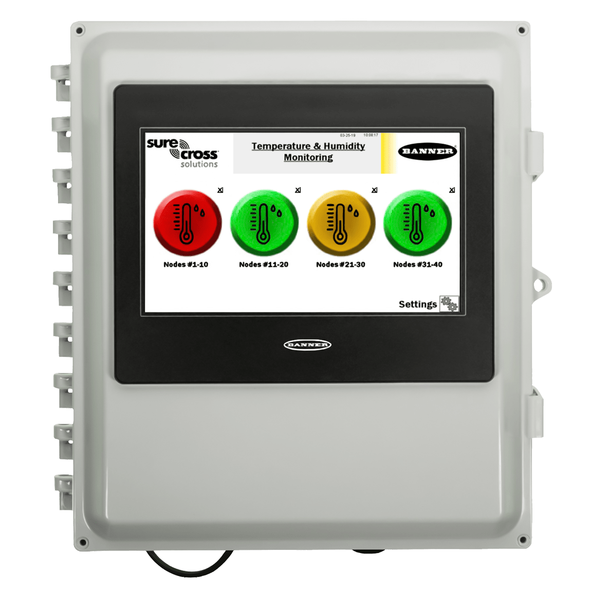 Temperature and Humidity Solutions Kits