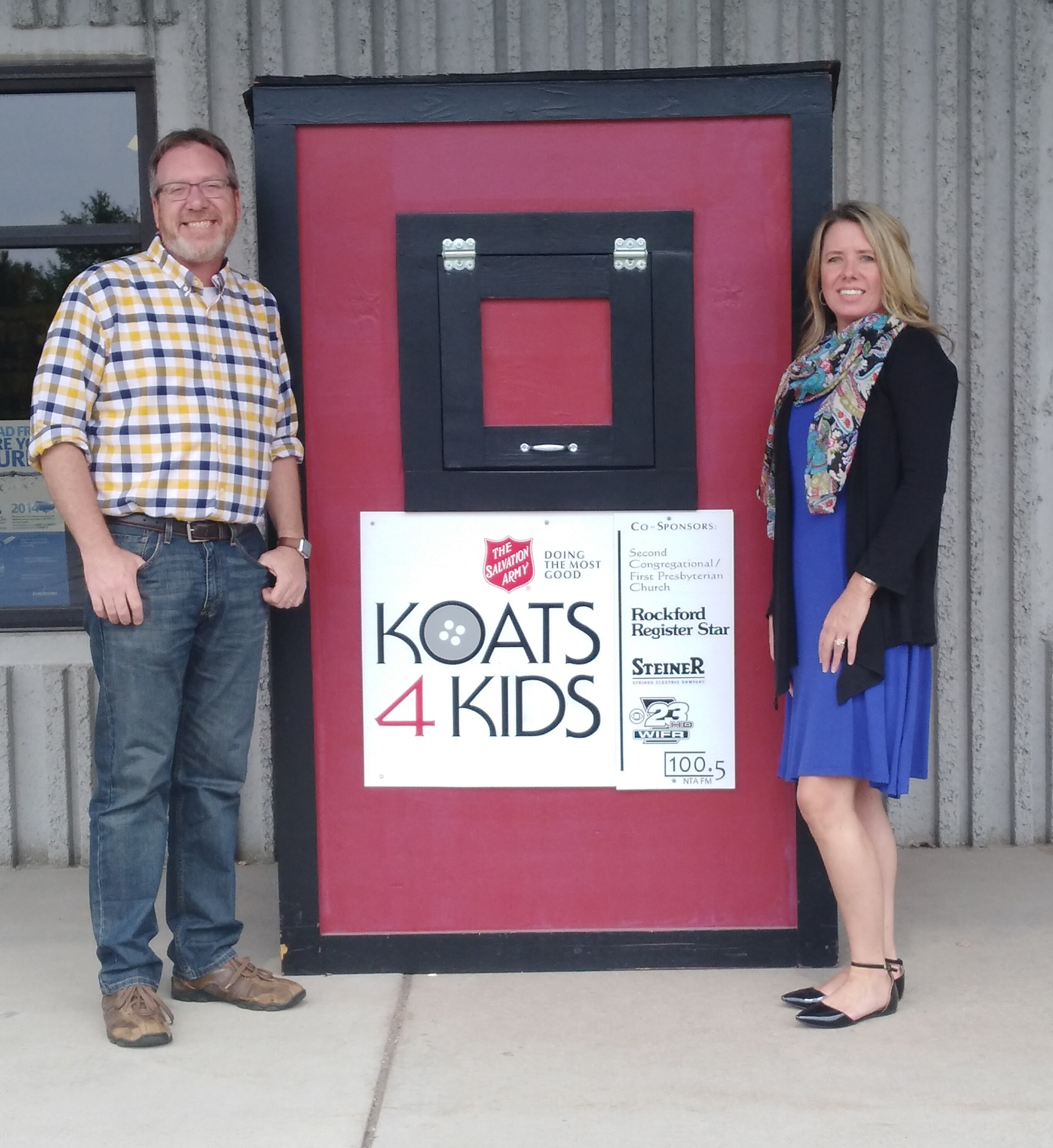 Koats 4 Kids Donation Box