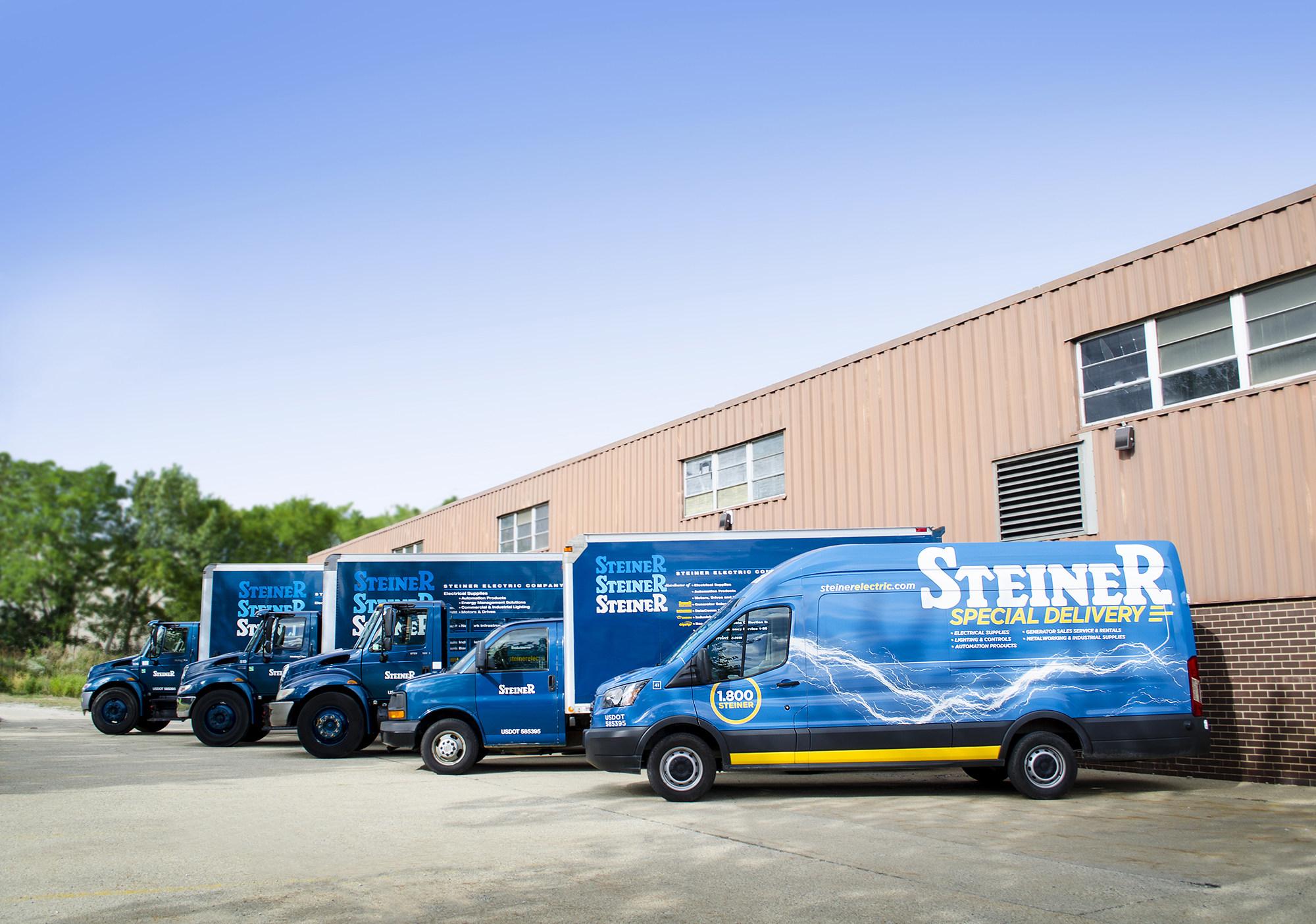 Steiner Blue Trucks