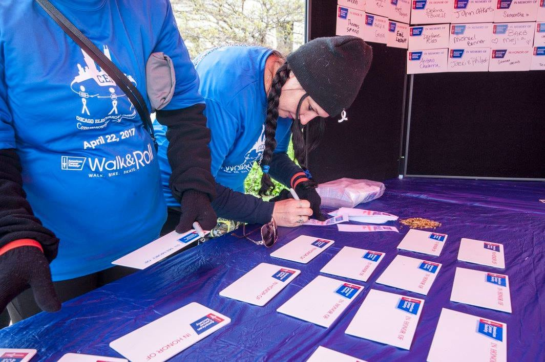 American Cancer Society Walk and Roll Registration
