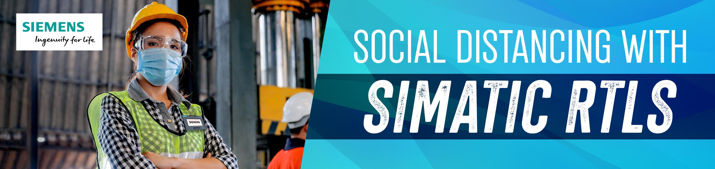 Siemens SIMATIC RTLS for Social Distancing