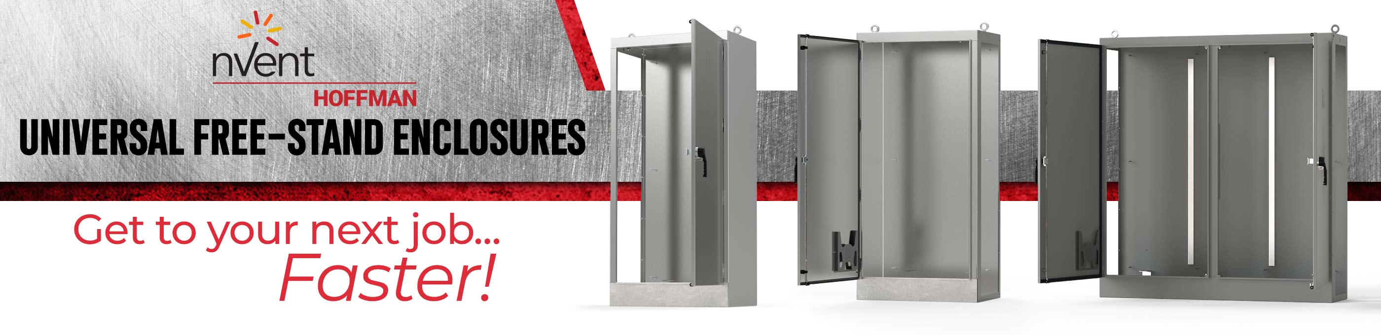 nVent Hoffman Universal Free Stand Enclosures