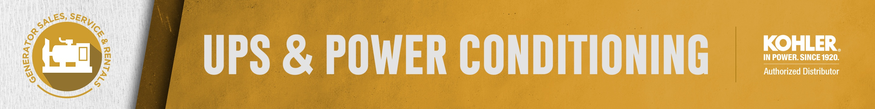 UPS & Power Conditioning