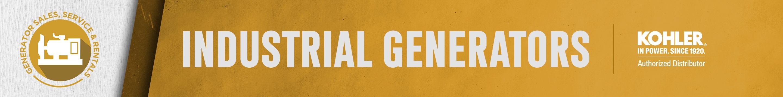 Industrial Generators Banner