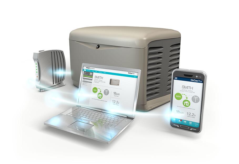 Kohler OnCue Remote Generator Monitoring System