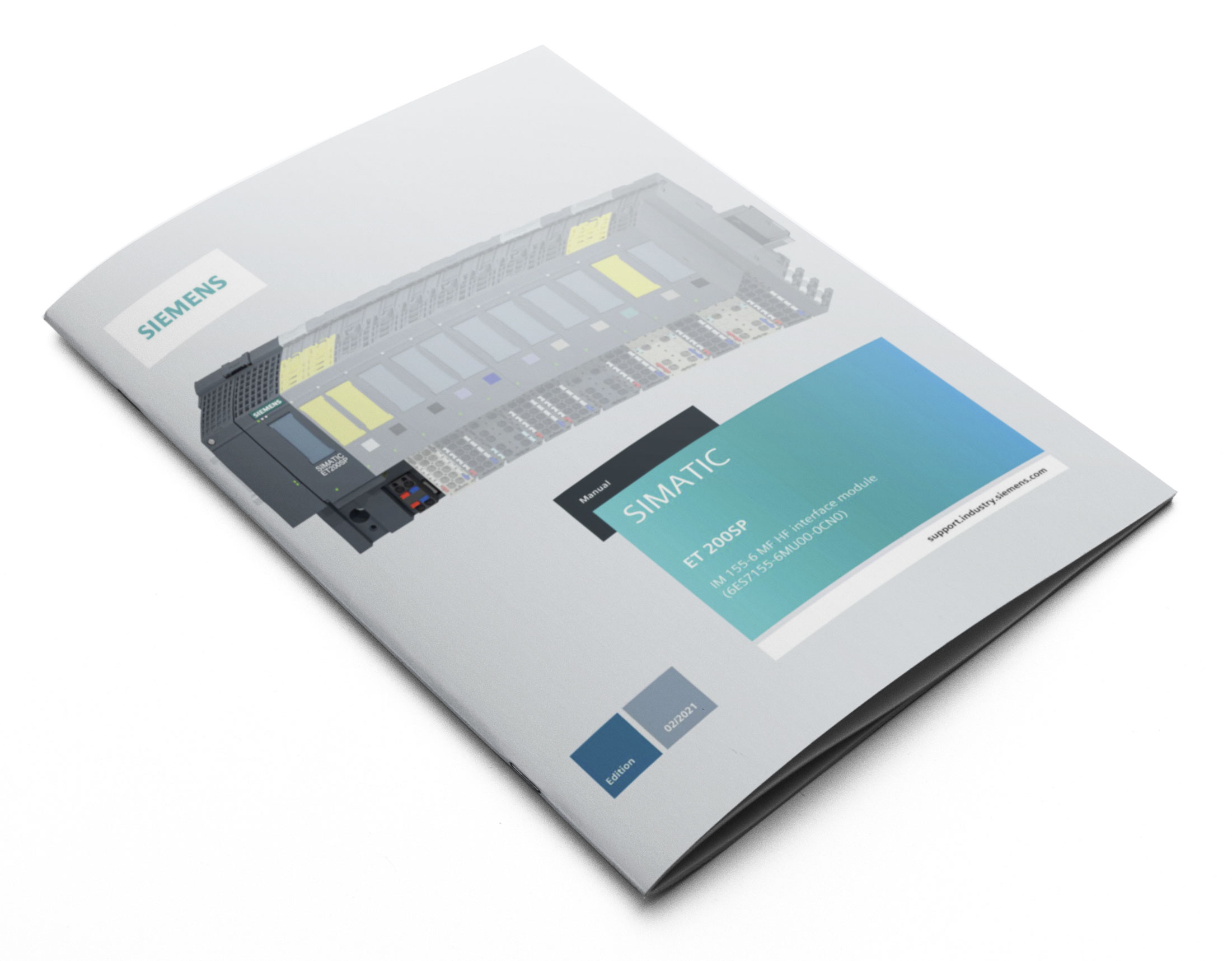 Siemens SIMATIC ET 200 Manual and Software