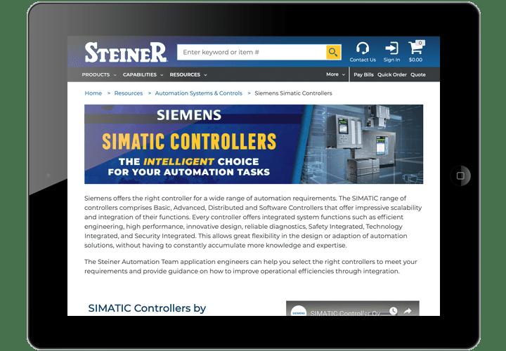 Siemens Simatics Controllers