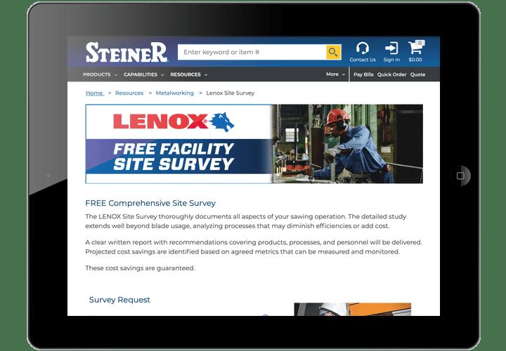Lenox Facility Site Survey