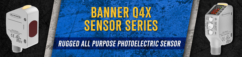 Banner Q4X Motor Series