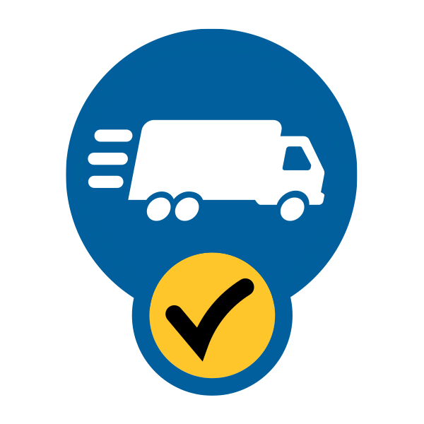 Scheduled Pickups or Deliveries