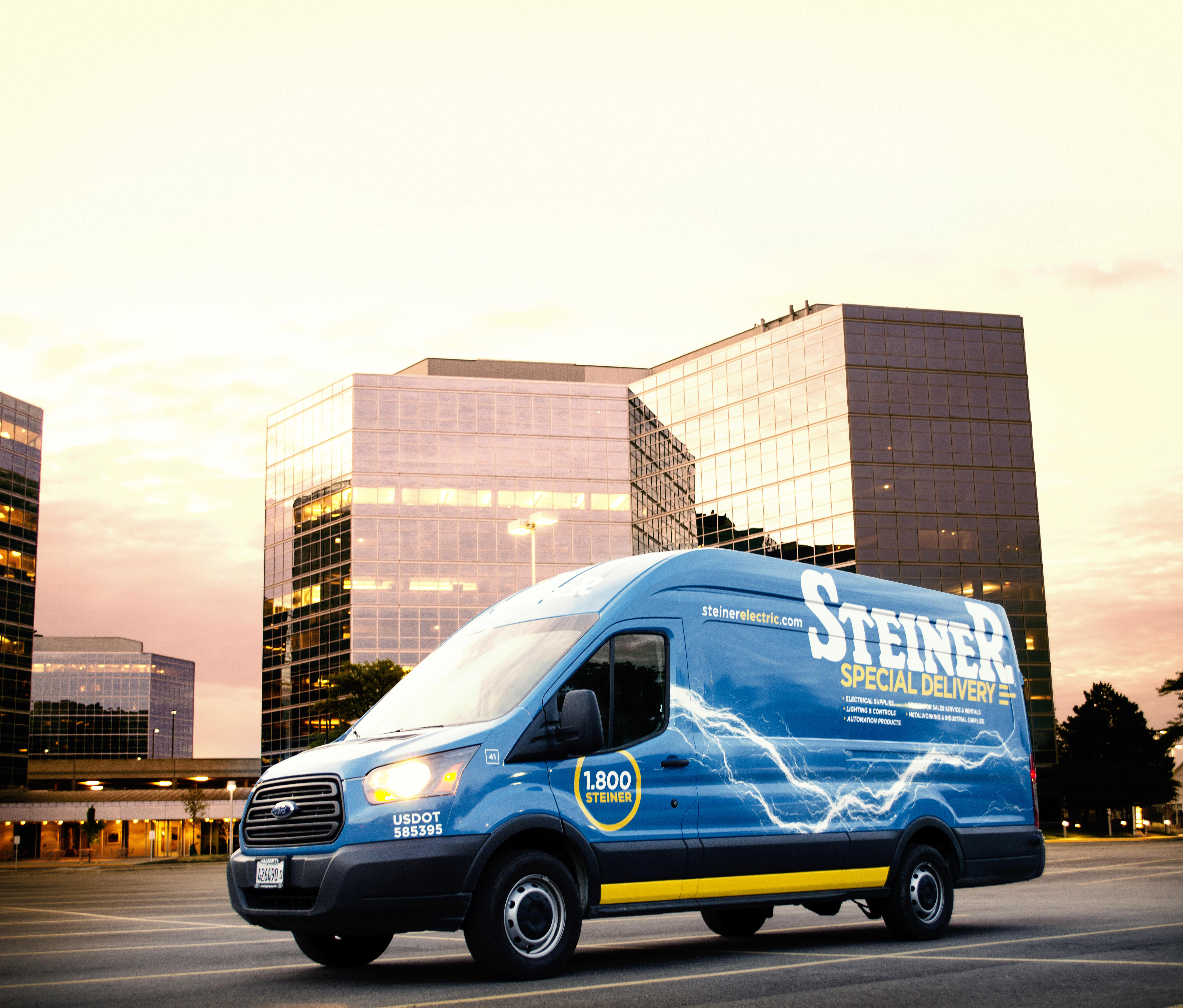 Steiner Delivers