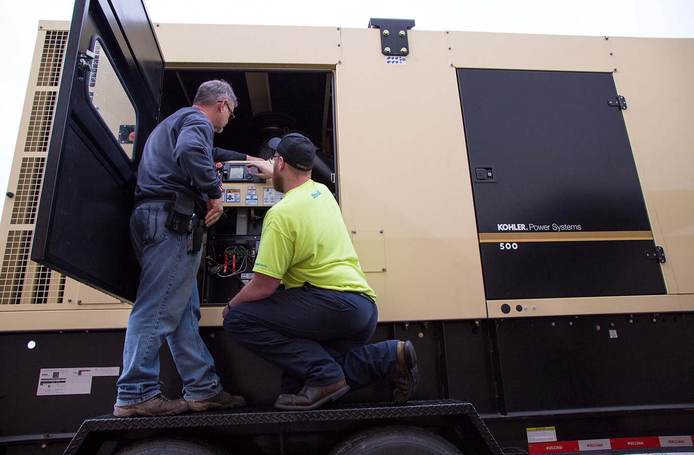 Industrial Generator Maintenance - Tech Support - Service
