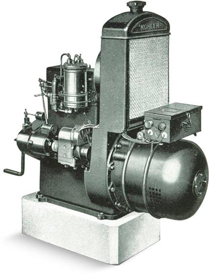 Kohler Generator Circa 1920