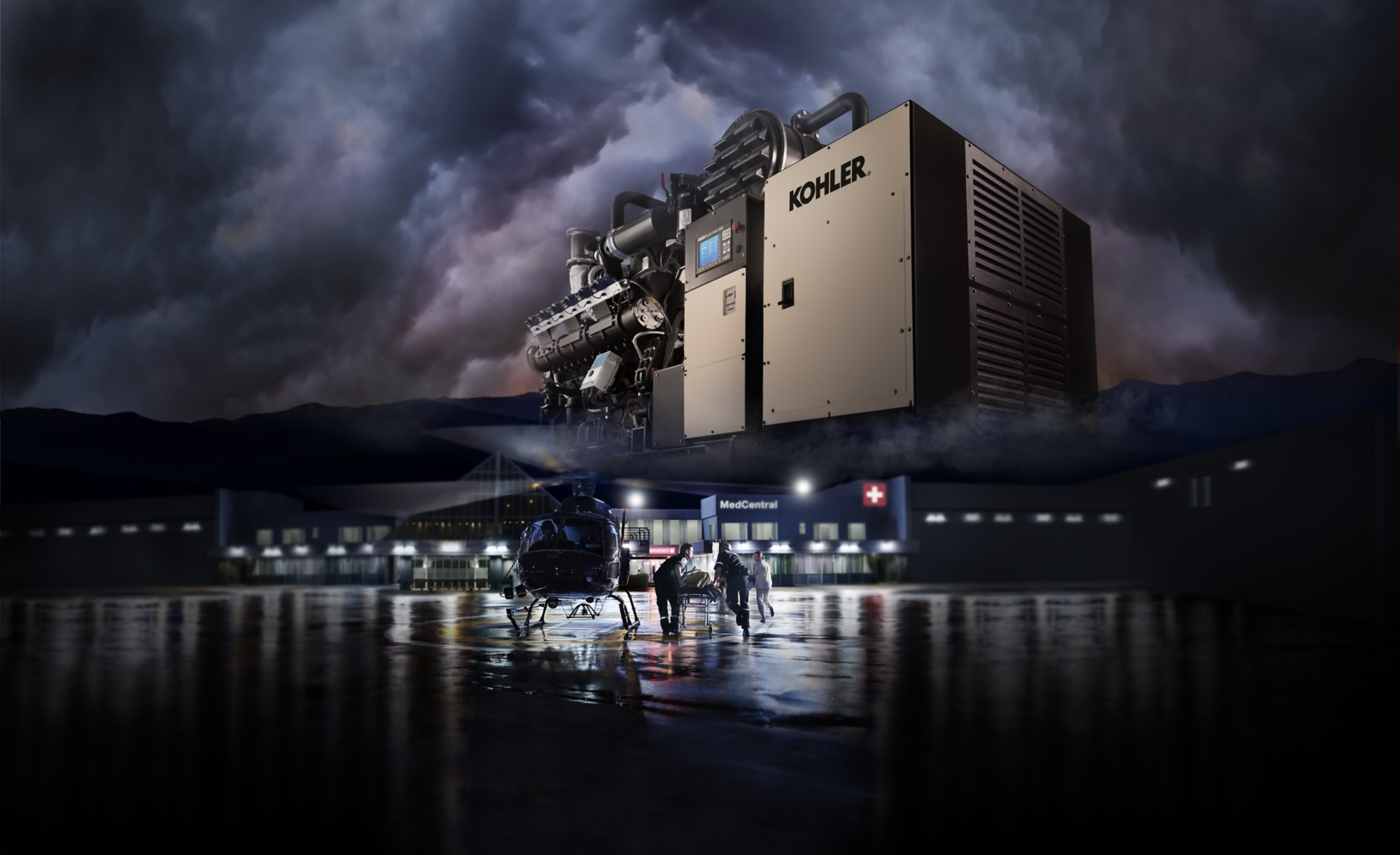 Industrial Generators | Kohler Authorized Distributor