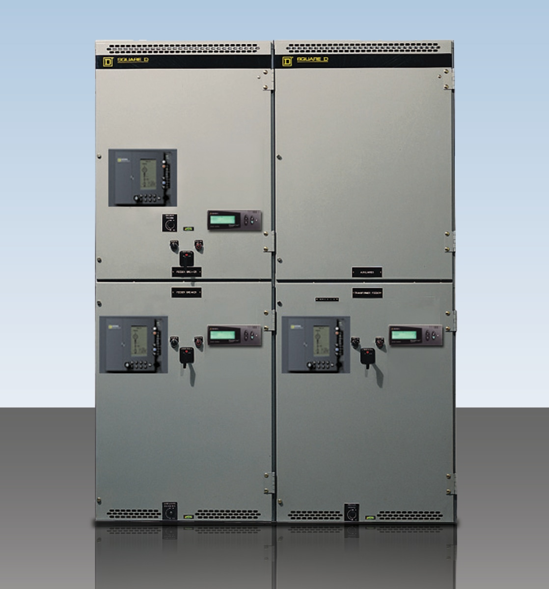 Powerlogic monitoring system from Square D by Schneider Electric