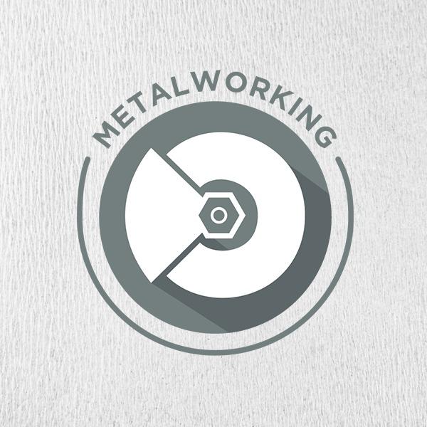 Metalworking Landing Banner