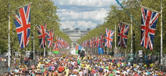 London Marathon 2019 Team Step by Step