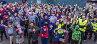 Biggest Ever Sleep Out for Step by Step