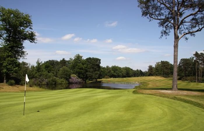 Charity golf day for Step by Step at North Hants Golf