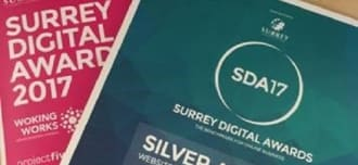 Surrey Digital Awards - Silver