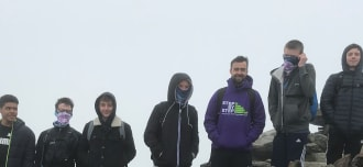 Young People Conquer Mount Snowdon