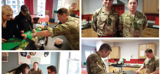 Army Chefs Cause a Stir at Step by Step