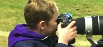 Young photographer gains experience with Harlequins