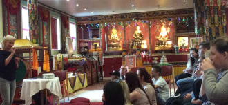 Our visit to the Buddhist Community Centre UK
