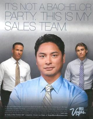 A Las Vegas marketing campaign image.