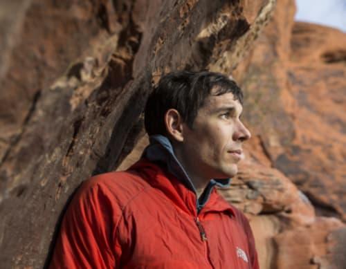 El Capitan rock climber Alex Honnold at home in Las Vegas