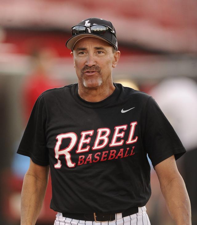 Tim Chambers UNLV baseball coach