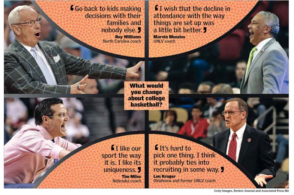 College basketball changes coaches Las Vegas Review-Journal