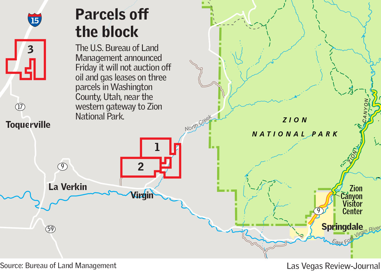Oil and gas leases near Zion