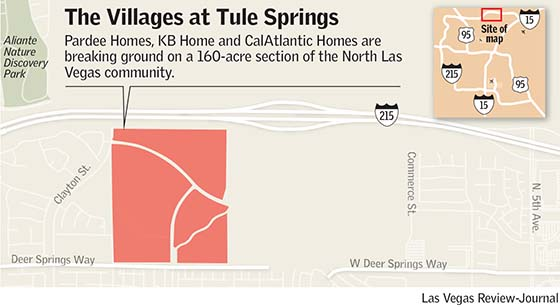 Tule Springs construction